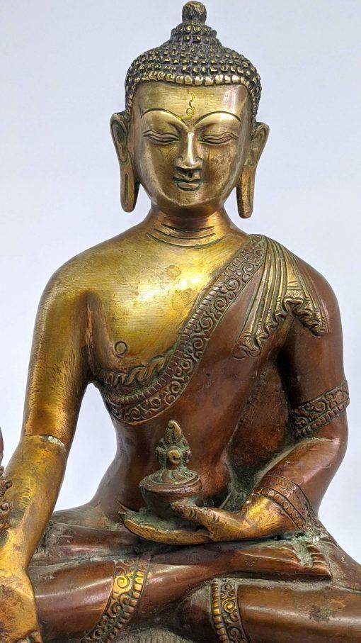 Antique Shakyamuni Buddha Statue Large