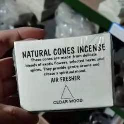 natural cones incense cedarwood