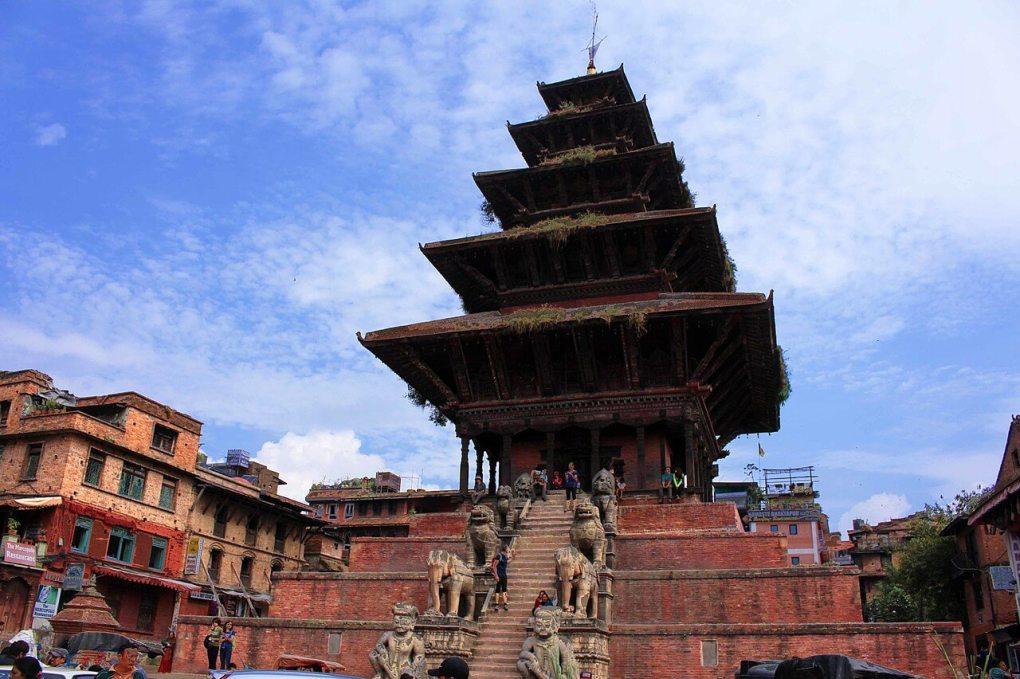 pagoda style temple nepal