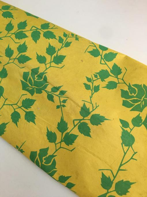 yellow rose gift wrapping paper nepal
