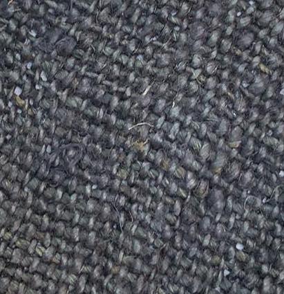 hemp black color fabric