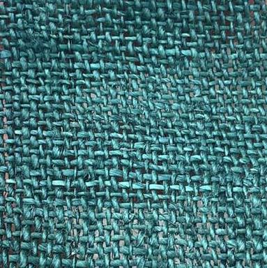 hemp cyan color fabric