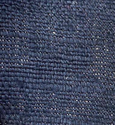hemp dark blue color fabric