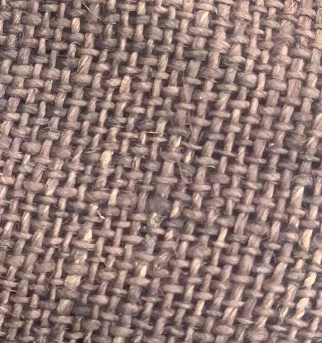 hemp light brown color fabric