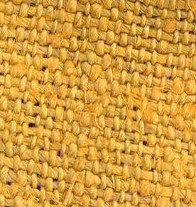 hemp yellow color fabric