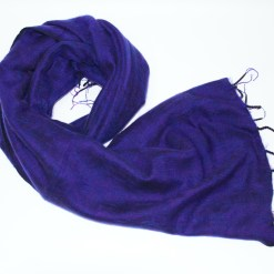 Yak Wool Shawl Purple Color