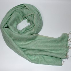 Yak Wool Shawl Aqua Green Color