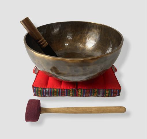 16 inches Handmade Antique Singing Bowl
