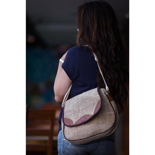 Himalayan Hemp Ladies Side Bag 1