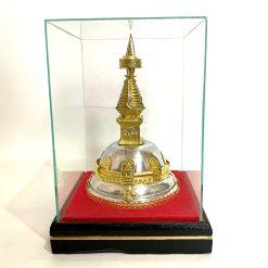 Swayambhunath Stupa in Glass Case