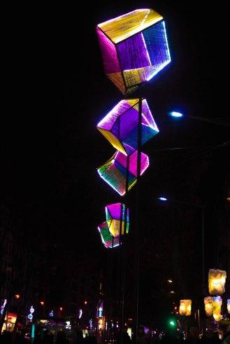 Les illuminations de Confluence en 2014. (C) Sara Chalbos