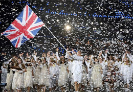 Team GB -  Olympics Opening Ceremony