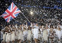 Team GB - Olympics Opening Ceremony