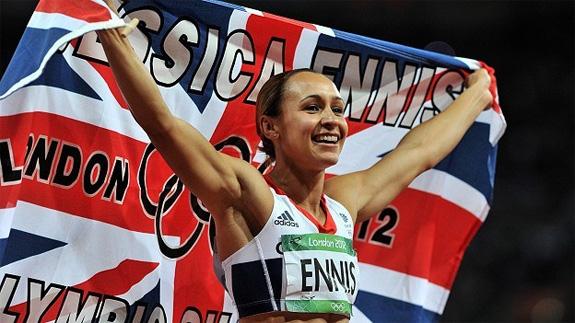 Jessica Ennis - Olympic Heptathalon Gold Medal Winner