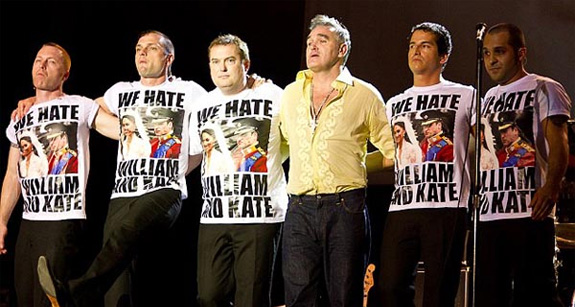 Morrissey - We Hate William And Kate