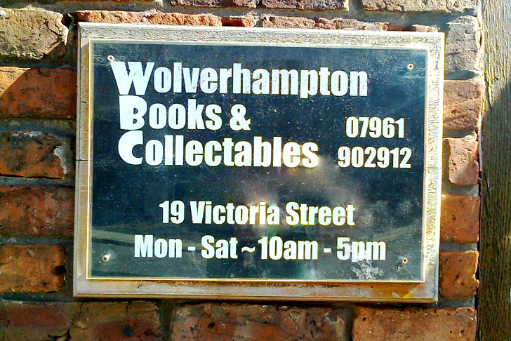 Wolverhampton Books & Collectables