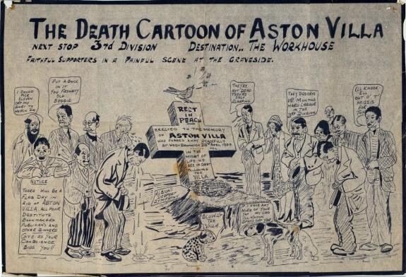 The Death Cartoon Of Aston Villa