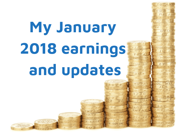 My January 2018 earnings and updates