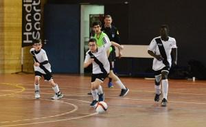 francisco en action au foot à 5