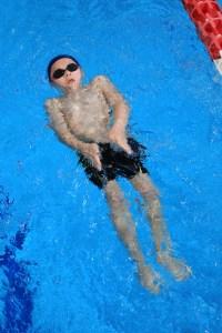 judickaël à la natation
