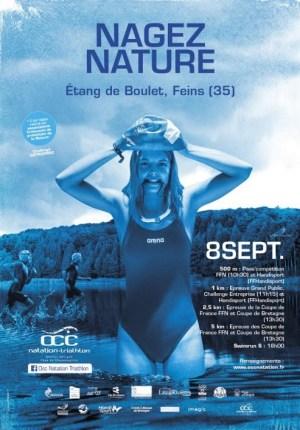 affiche de l'évènement Nagez Nature à Feins