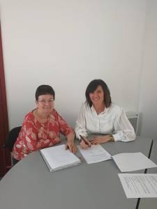 Signature de la convention entre le CDH et a2i