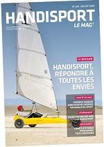 Couverture du Handisport Le Mag no180 Juillet 2020