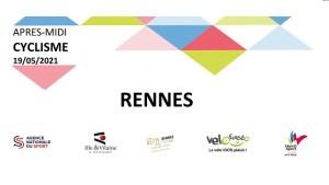 Les logos des 5 partenaires de la journée cyclisme