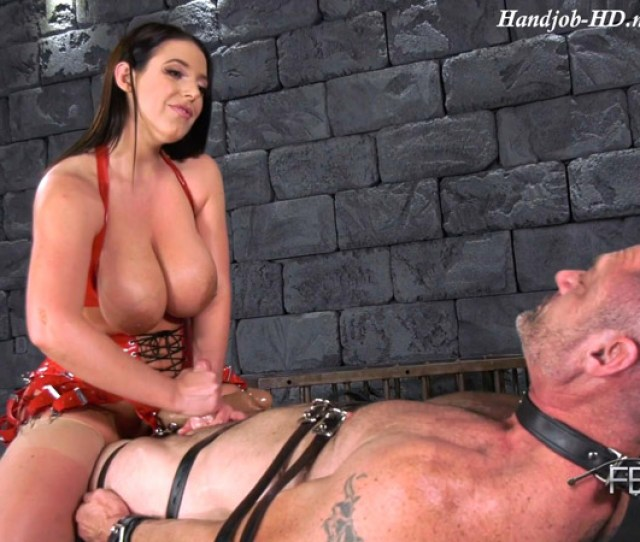 Cock Cum Guzzler Femdom Empire Angela White
