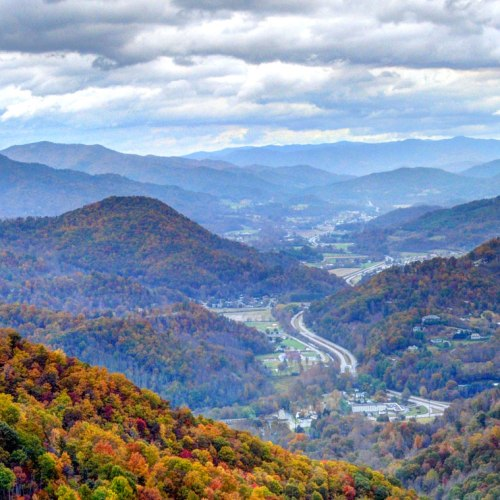 View of Maggie Valley NC