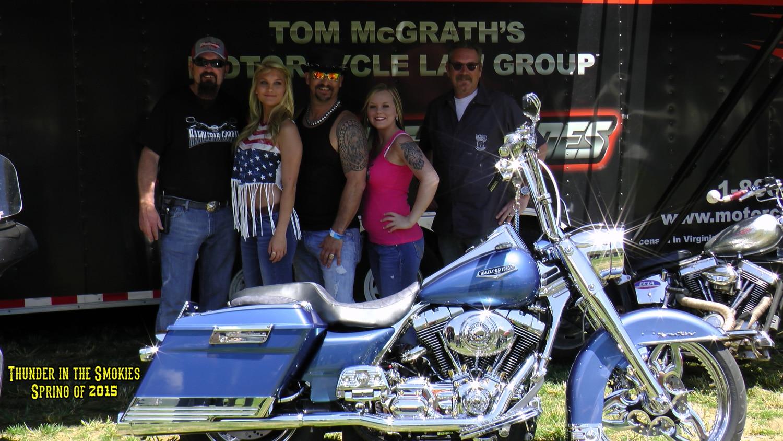 Bike Show Winner at Thunder in the Smokies Rally