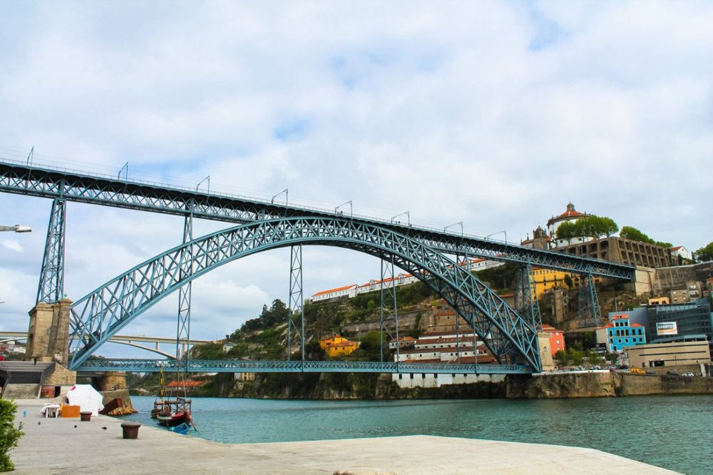 Wine with a view (oh, and some lunch too!)... in Porto, Portugal (1)