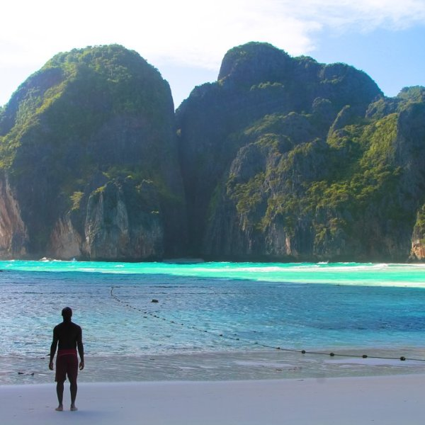 Maya Bay, Phi Phi Island, Thailand on Hand Luggage Only Blog (1)