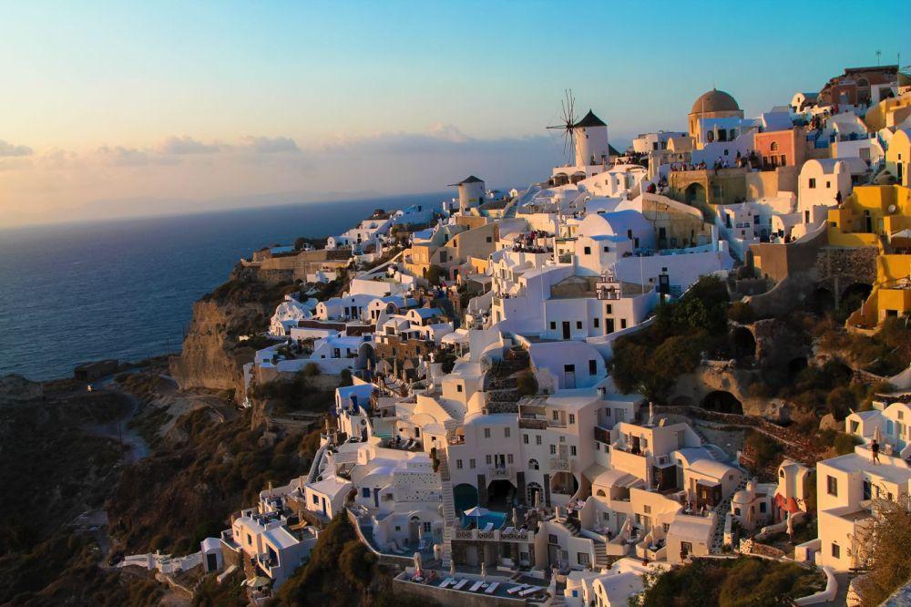 A Huge Grecian Hello From Santorini!!! (8)