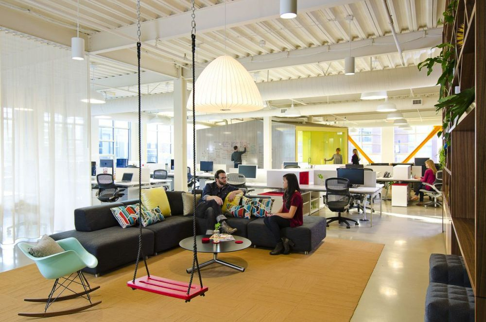 8 Really REALLY Cool Offices You
