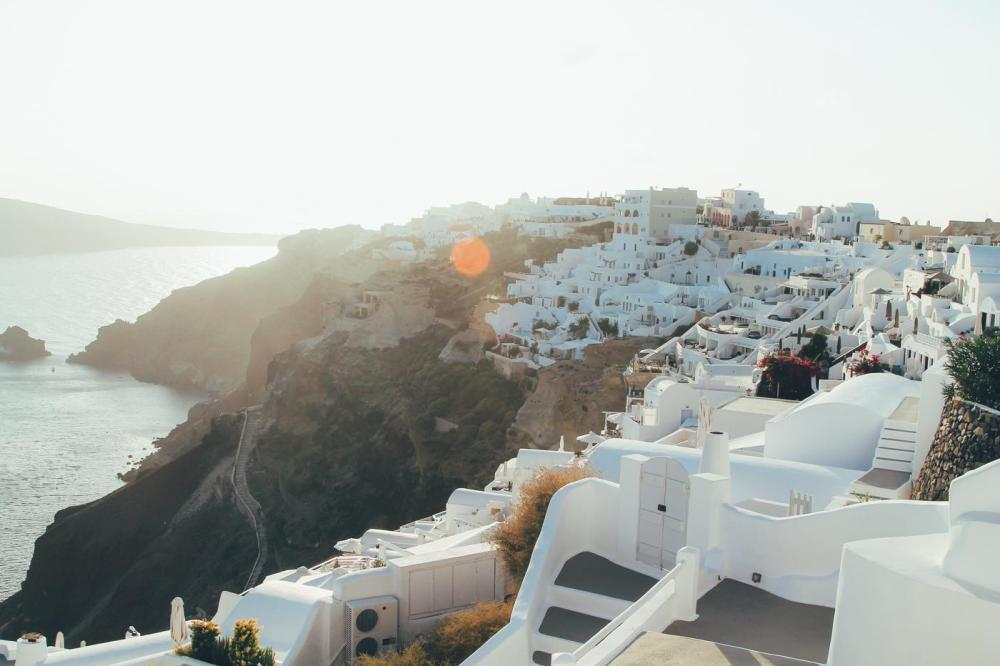 Sunrise To Sunset in Oia and Fira in Santorini, Greece! (14)