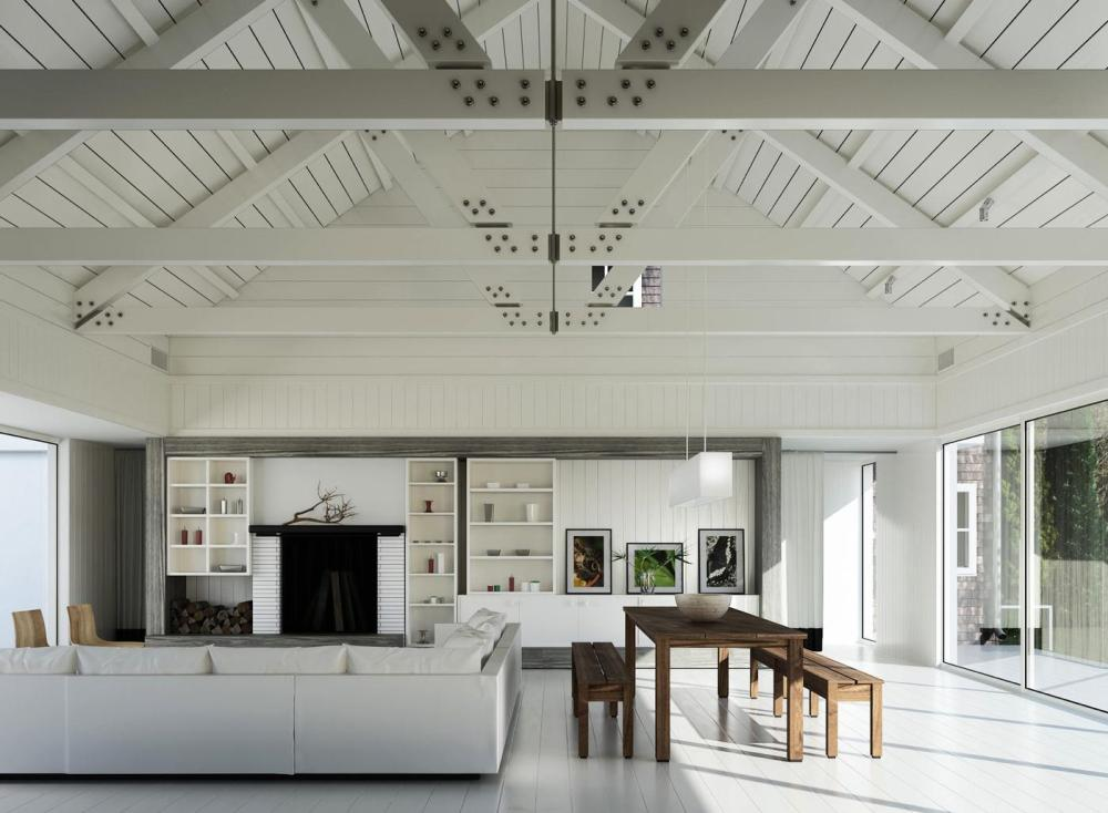 20 Amazingly Beautiful White Homes To Draw Inspiration From! (3)
