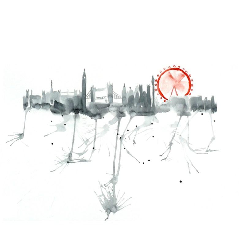 Watercolour Cities by Elena Romanova Artist (3)