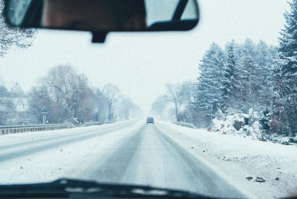 Snow, Winter, Driving in Germany (1)