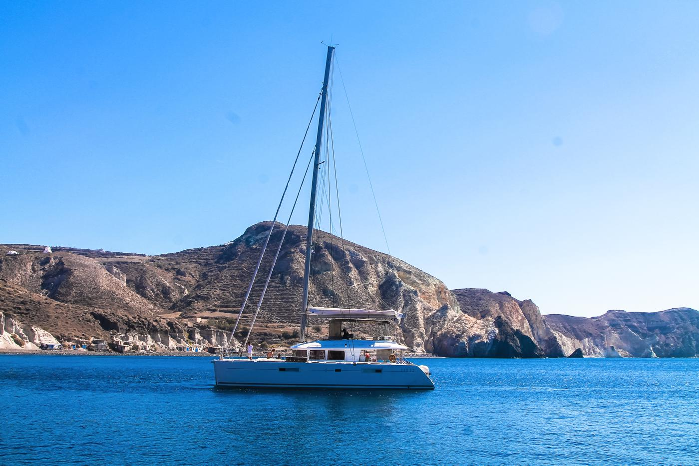Things To Do When Sailing Around Santorini... (23)