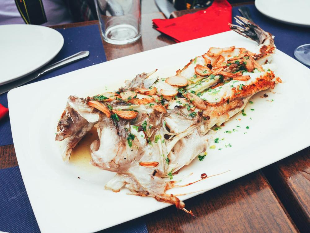 Cobbled Streets, Alley Ways And Seafood... Fish, Monkfish, Hake, Restaurant Ziaboga, Basque Country, Pasaia, Spain (12)