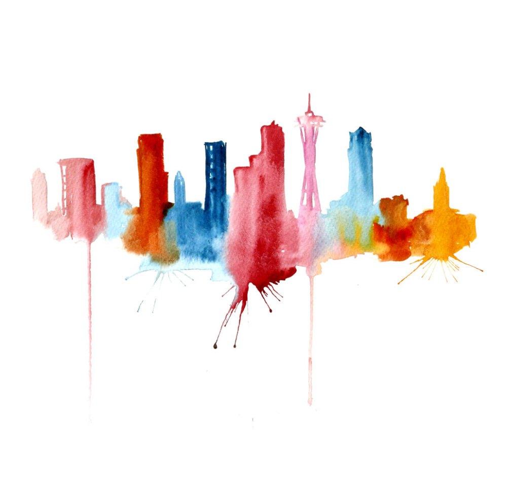 Watercolour Cities by Elena Romanova Artist (9)