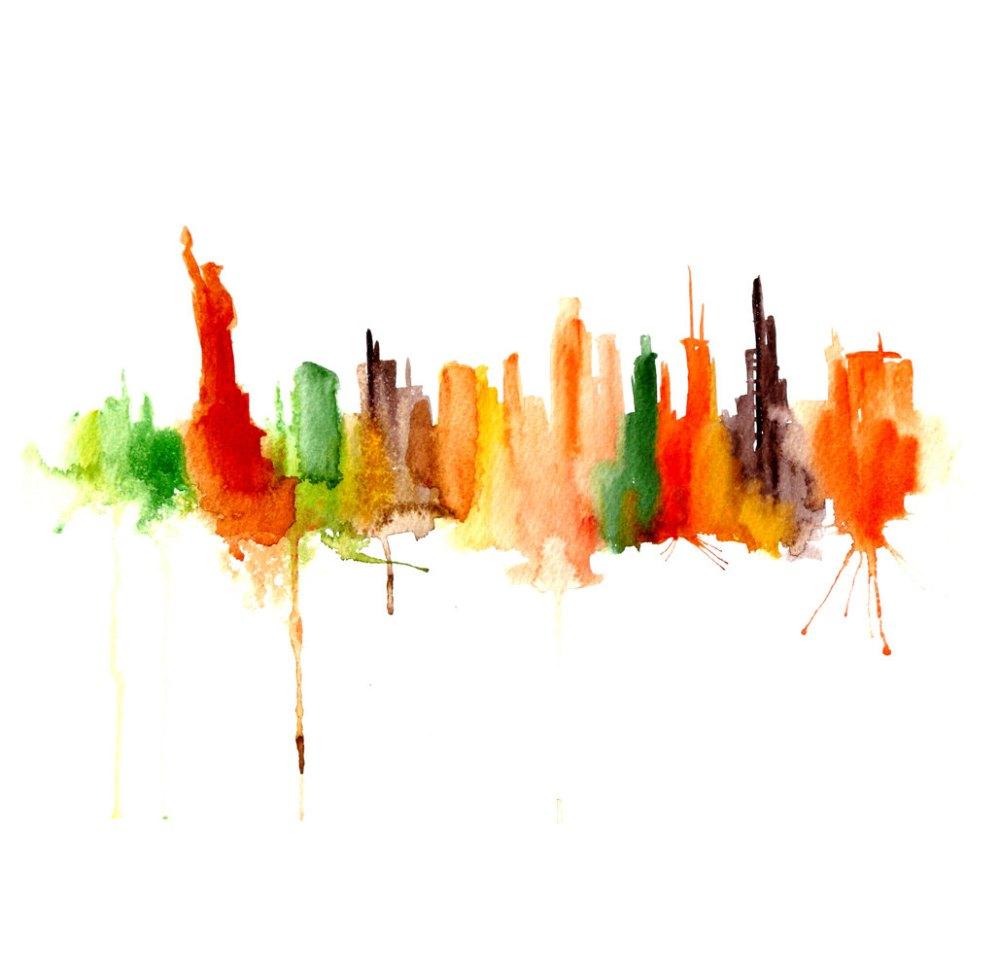 Watercolour Cities by Elena Romanova Artist (11)