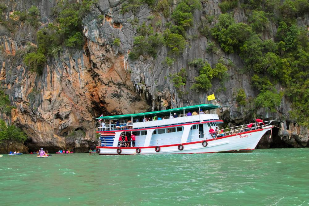 Things To Do When Sailing From Island To Island in Phang Nga Bay, Phuket, Thailand - PART 1 (20)