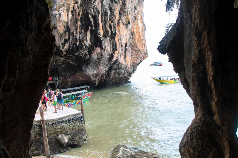 Things To Do When Sailing From Island To Island in Phang Nga Bay, Phuket, Thailand: The 2nd Part (23)