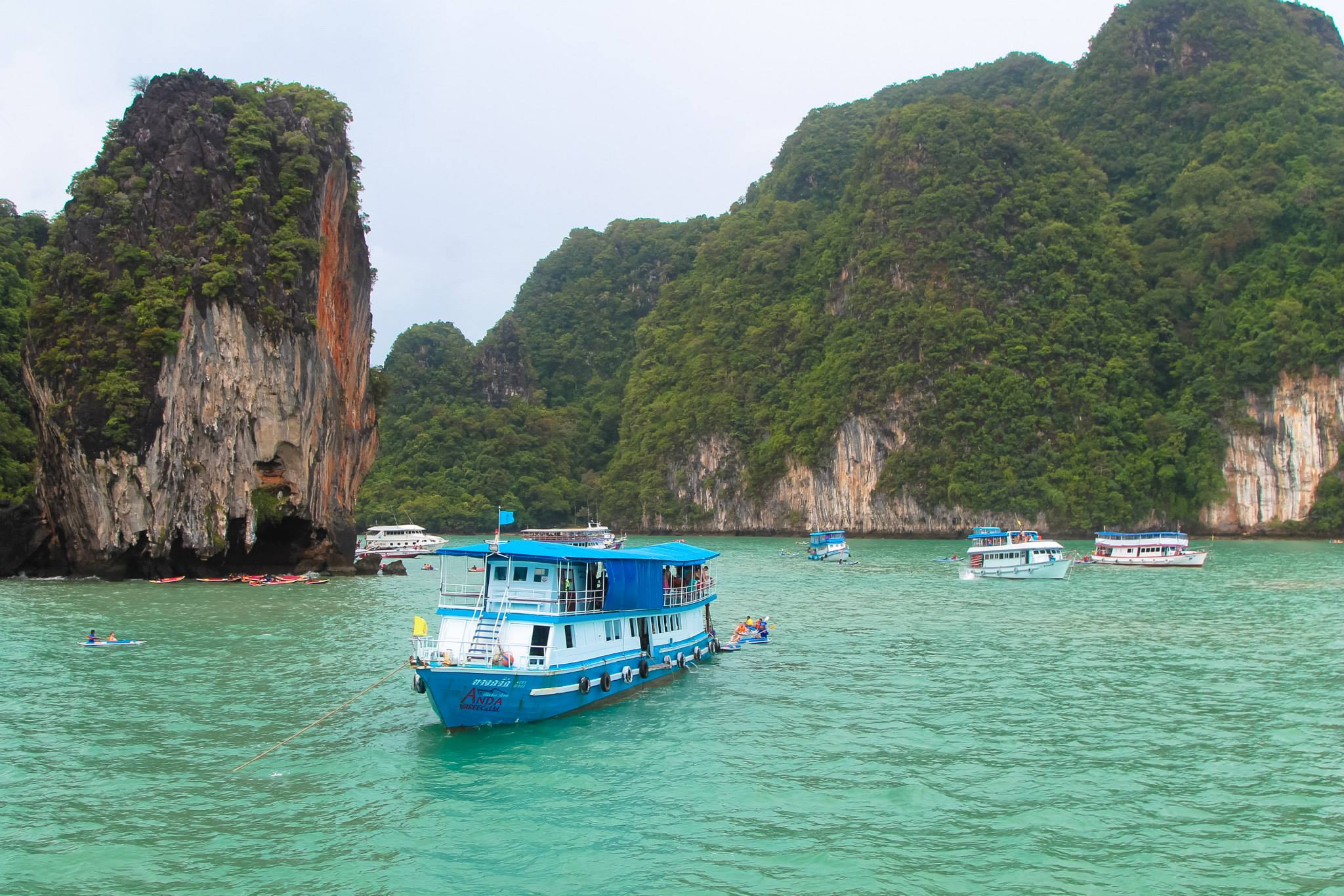 Things To Do When Sailing From Island To Island in Phang Nga Bay, Phuket, Thailand: The 2nd Part (2)