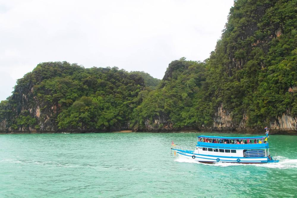 Things To Do When Sailing From Island To Island in Phang Nga Bay, Phuket, Thailand: The 2nd Part (5)