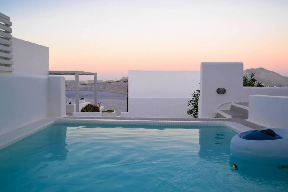 Apartment in Greece, Holiday Travel Santorini Sunsets Pool