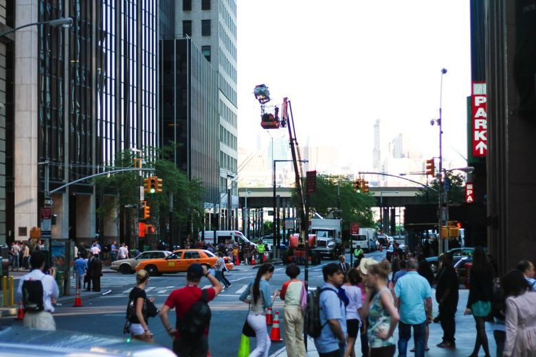 That One Time I Walked Onto A Movie Set In New York! (20)
