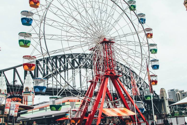 (FREE-ish) Things To Do In Sydney, Australia: Spend an afternoon in Luna Park! (14)